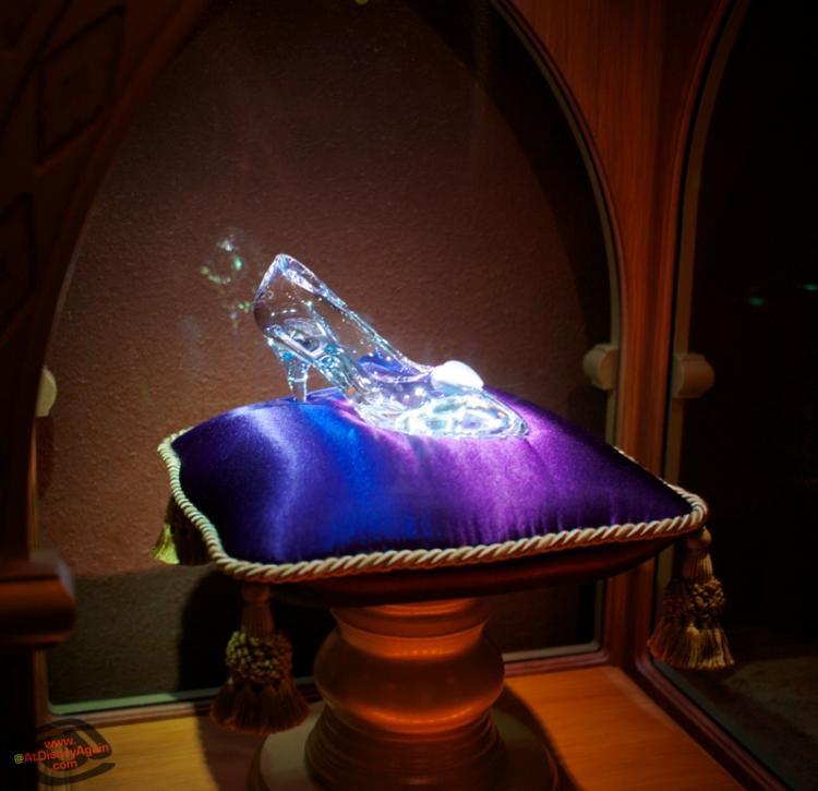 Fairytale Hall Magic Kingdom Cinderella's Glass Slipper Photo by AtDisneyAgain