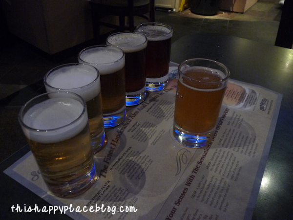 Big River Grille BoardWalk Beer Sampler