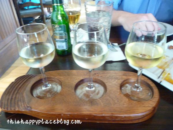 Kouzzina Wine Flight BoardWalk