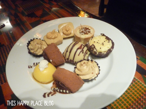 Animal Kingdom Lodge Boma Dessert Plate