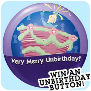 Unbirthday Button Keith Lapinig