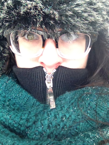 Estelle in Winter January 2014