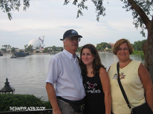 Family Shot Epcot 2006
