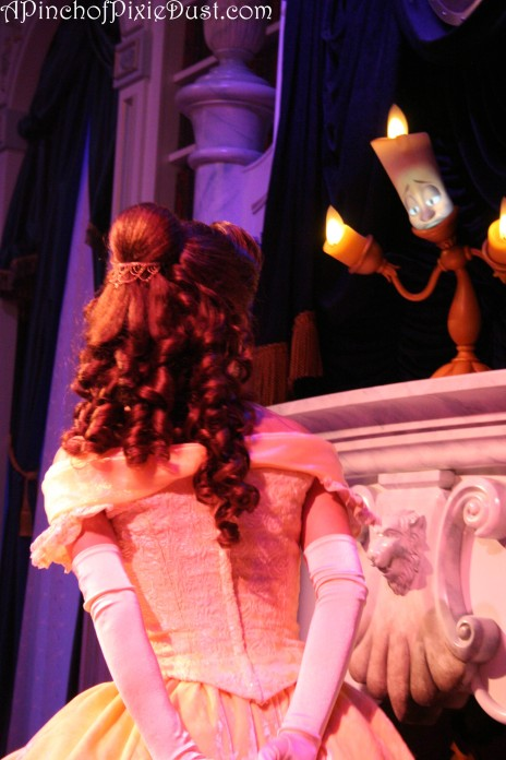 Lumiere at Belle's Enchanted Tales