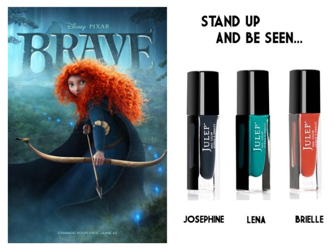 Pixar Brave Nail Polish Palette