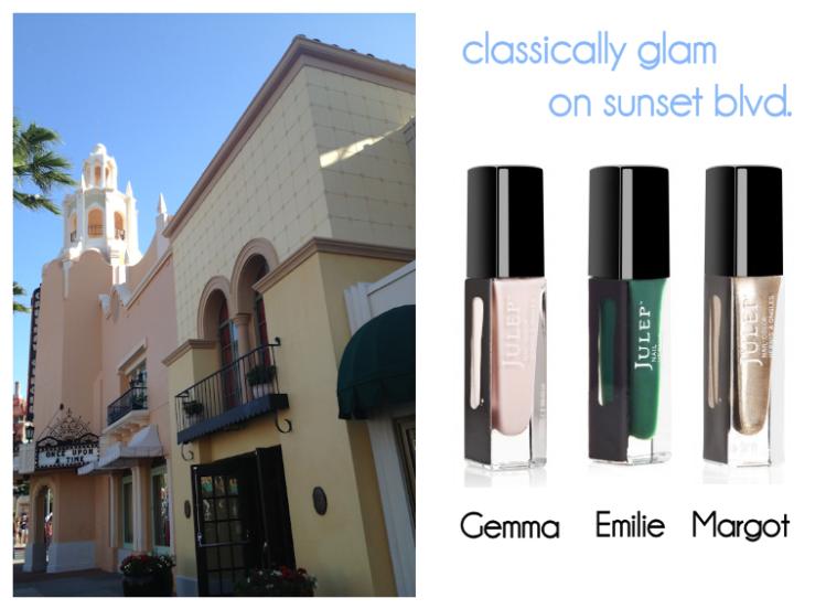 Sunset Blvd Hollywood Studios Nail Palette