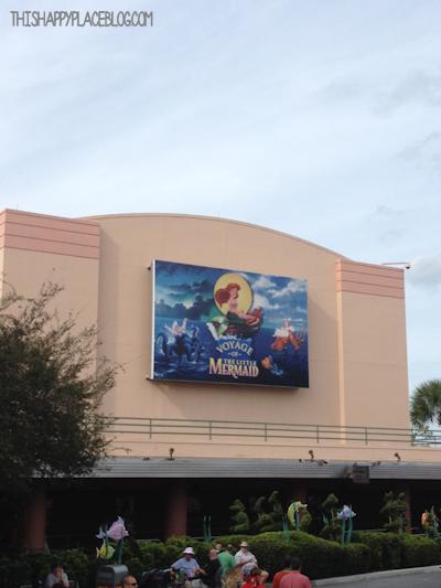 Voyage of the Little Mermaid Hollywood Studios