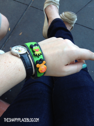 Magic Bands during January 2014 trip
