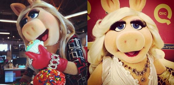 Miss Piggy Instagram 2014