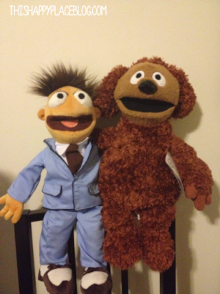 Rowlf and Walter Best Friends