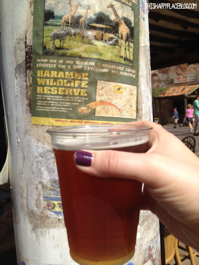Safari Amber Ale in Animal Kingdom November 2013