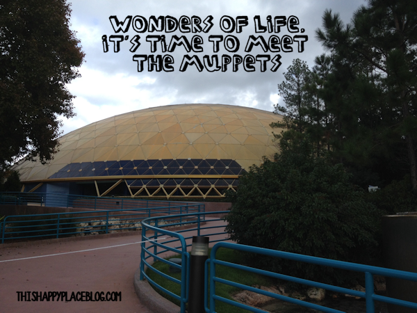 Wonders of Life Pavilion Muppet Takeover