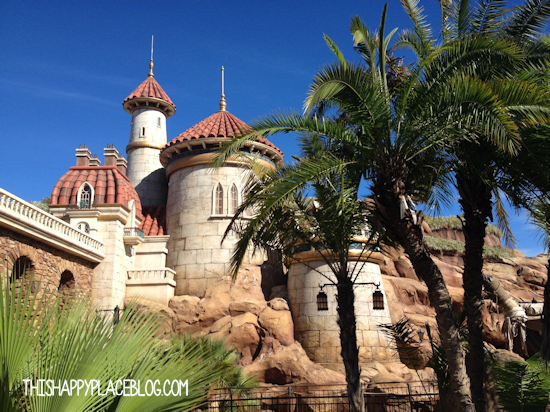 Under the Sea Journey of the Little Mermaid Exterior
