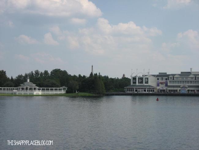 Crescent Lake View Walt Disney World