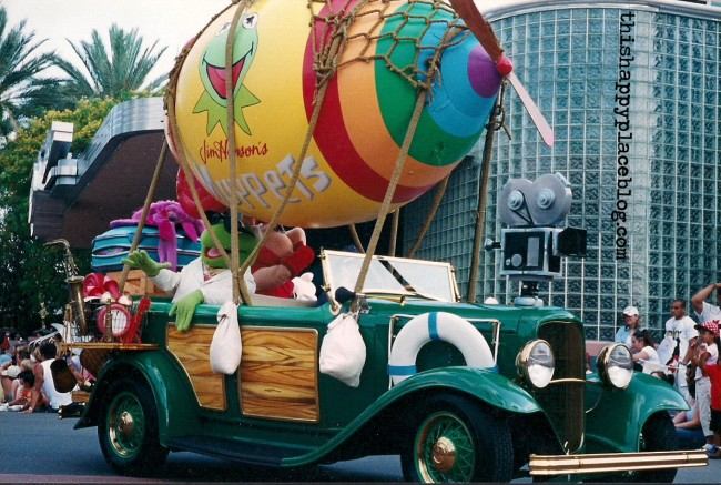 Muppets in Stars and Motorcars Parade at Hollywood Studios