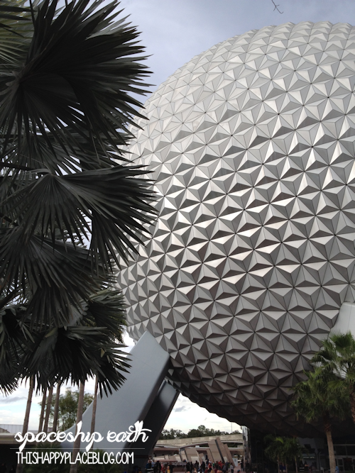 Spaceship Earth in Epcot 2014