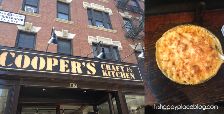 Coopers Craft and Kitchen in NYC