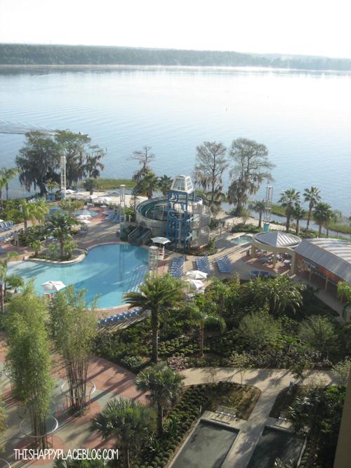 View of Bay Lake Cove at Bay Lake Tower