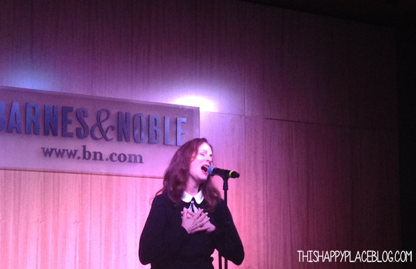 Lesley Ann Warren at Barnes and Noble