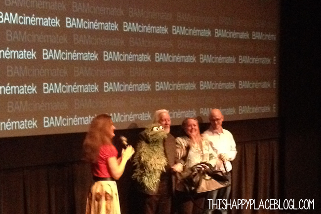 Caroll Spinney and Oscar the Grouch at BAM