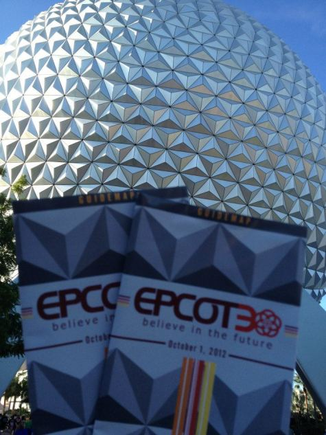 Epcot 30 at Epcot in October 2012