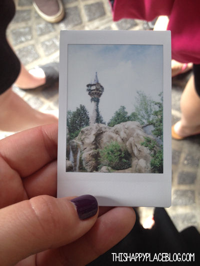 Instax Picture Tangled at Magic Kingdom