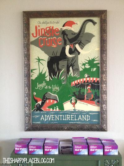 Jingle Cruise Signage at the Magic Kingdom in 2013
