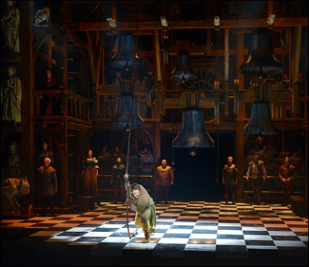 Hunchback of Notre Dame at La Jolla Playhouse