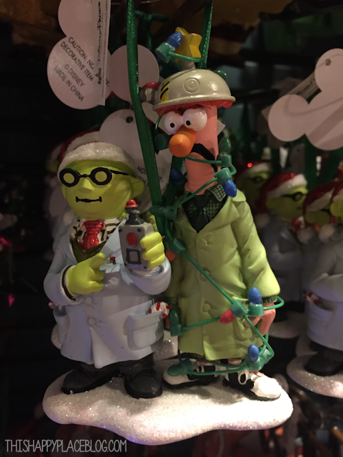 Beaker and Dr. Honeydew Ornament WDW 2014