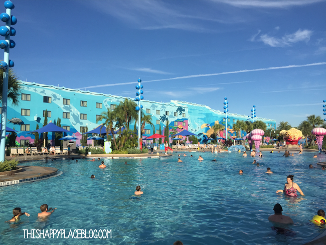 Finding Nemo at Art of Animation Resort
