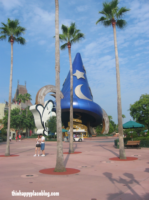 Disney's Hollywood Studios Sorcerer's Hat 2005