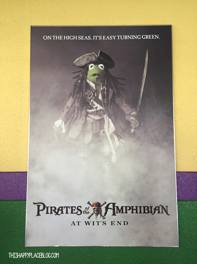 Pirates of the Amphibian Muppets Parody Posters MuppetVision