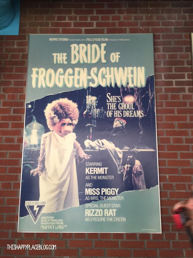 The Bride of Froggen Schwein MuppetVision Muppet Parody Poster